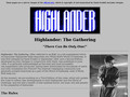 Détails : Highlander: The Gathering