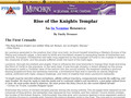Détails : Rise of the Knights Templar